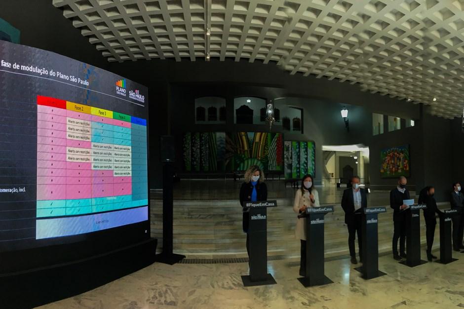 Governador apresenta projeto de flexibilização da quarentena